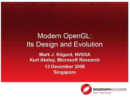 Modern OpenGL